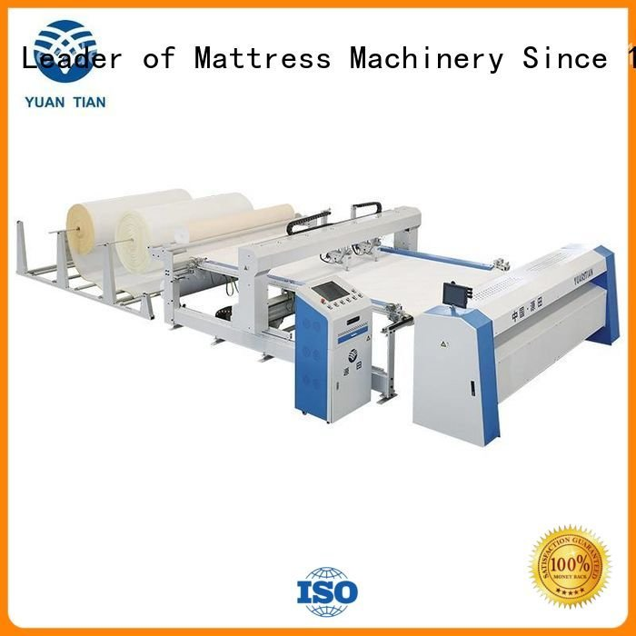 multineedle quilting machine for mattress YUANTIAN Mattress Machines quilting machine for mattress price