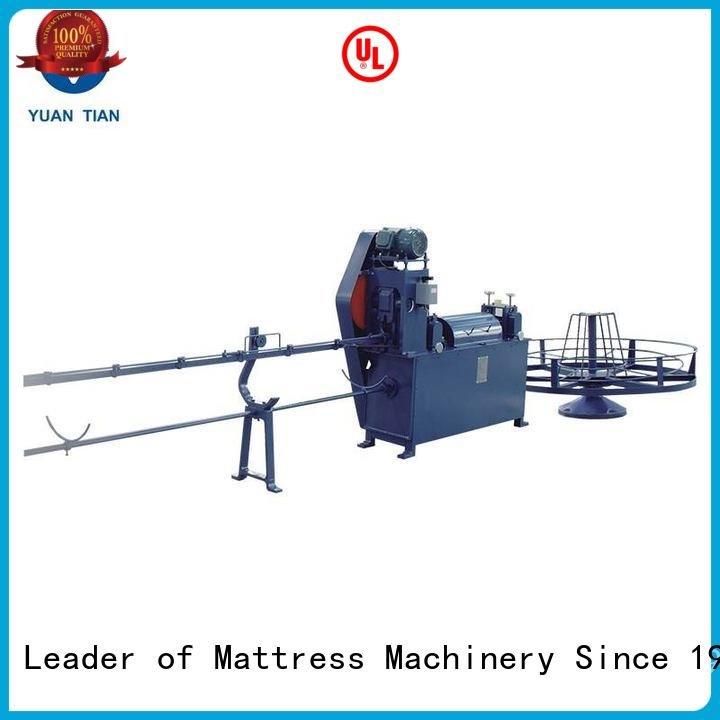 Hot foam mattress making machine pneumatic unpressing poket YUANTIAN Mattress Machines Brand