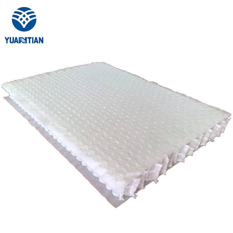 Spring Unit with Top and Bottom Non-woven Covers