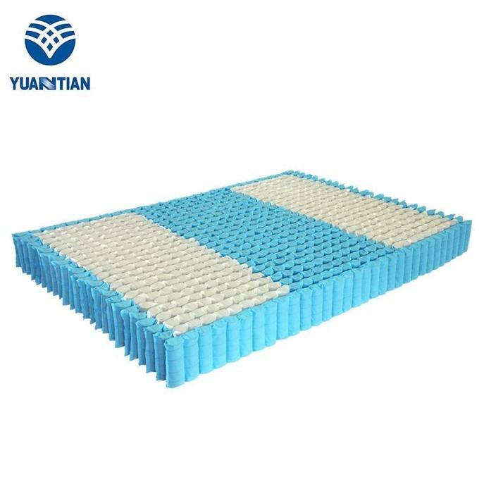 分区袋装床网