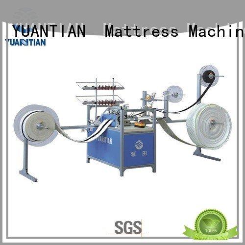 long Mattress Sewing Machine decorative label YUANTIAN Mattress Machines