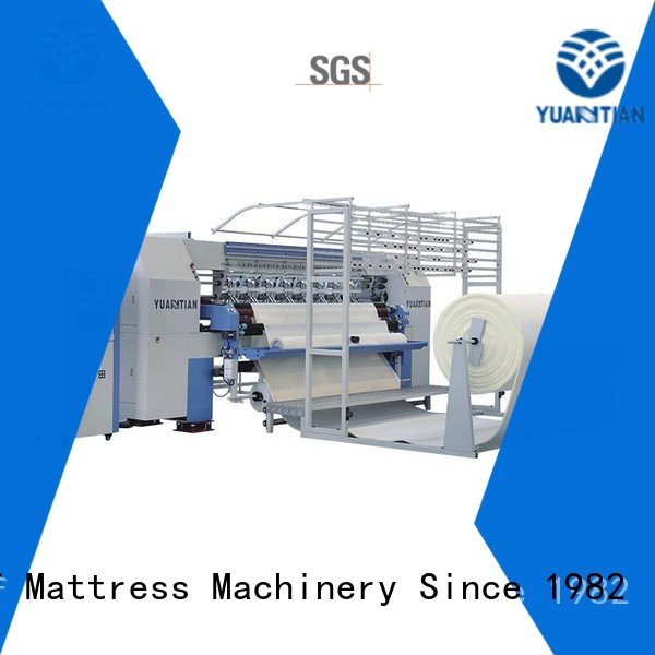side quilting machine for mattress lockstitch highspeed YUANTIAN Mattress Machines