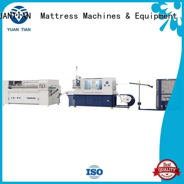 speed Automatic High Speed Pocket Spring Machine YUANTIAN Mattress Machines Automatic Pocket Spring Machine