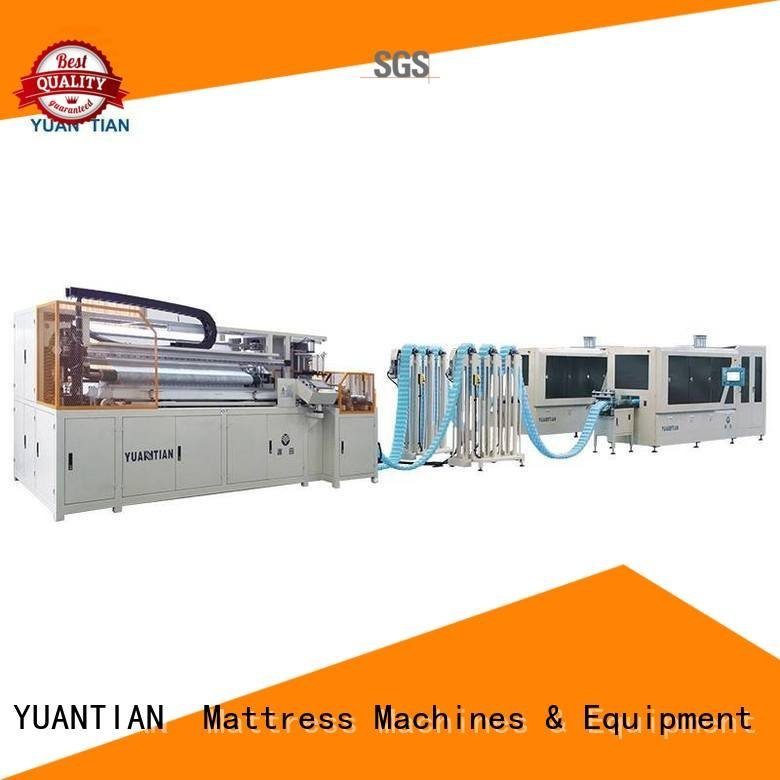 Automatic Pocket Spring Machine pocket speed YUANTIAN Mattress Machines Brand