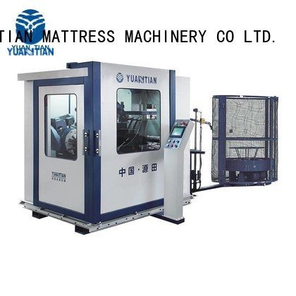 bonnell spring machine bonnell coiler Automatic Bonnell Spring Coiling Machine YUANTIAN Mattress Machines Warranty