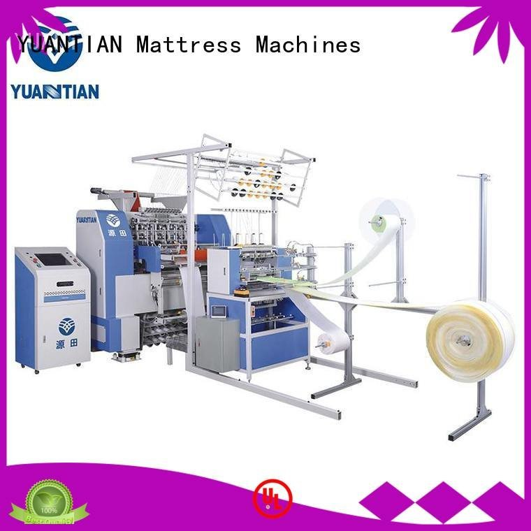 border machine multineedle YUANTIAN Mattress Machines quilting machine for mattress