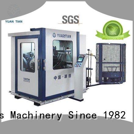 line bonnell coiler machine YUANTIAN Mattress Machines Automatic Bonnell Spring Coiling Machine