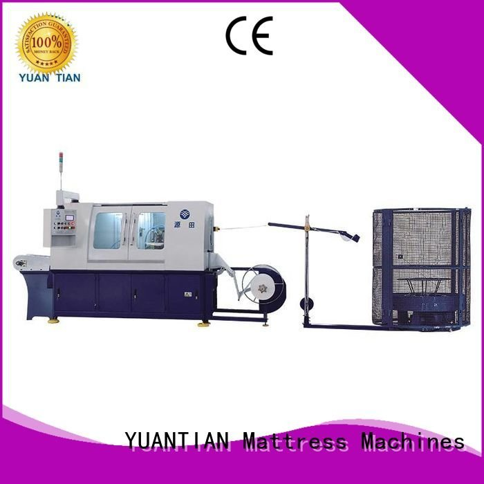 Automatic Pocket Spring Machine pocketspring assembling production line YUANTIAN Mattress Machines