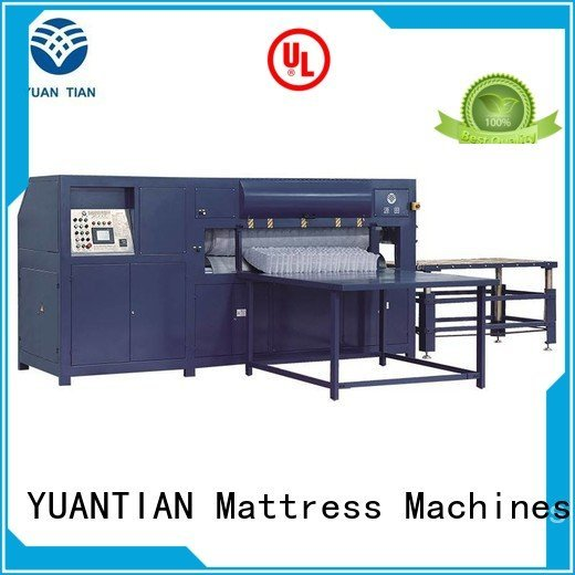 YUANTIAN Mattress Machines bending jb2 mattress packing machine mattress pneumatic