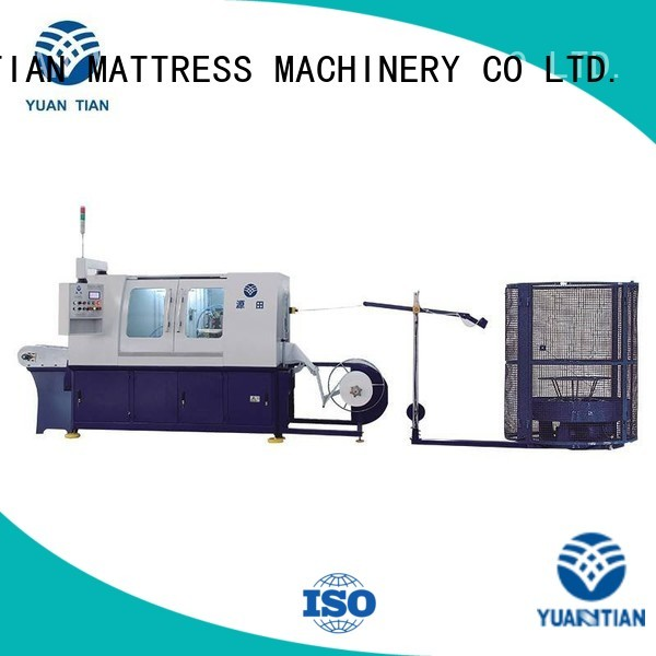 Wholesale coiler Automatic High Speed Pocket Spring Machine YUANTIAN Mattress Machines Brand