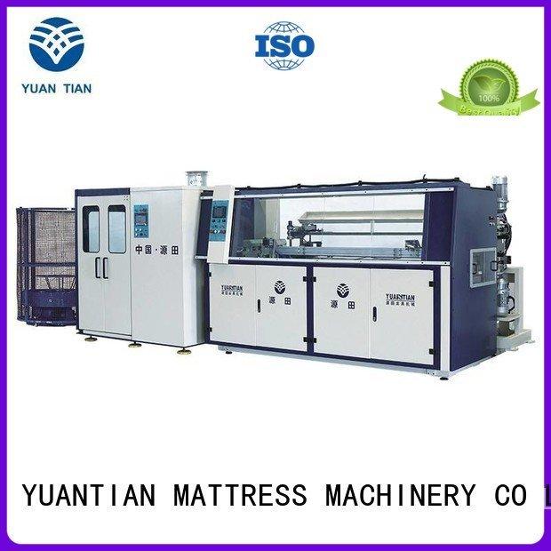 YUANTIAN Mattress Machines Automatic Bonnell Spring Coiling Machine line automatic bonnell tx011