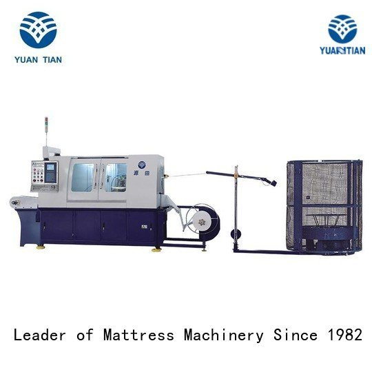pocketspring dzg6 YUANTIAN Mattress Machines Automatic Pocket Spring Machine