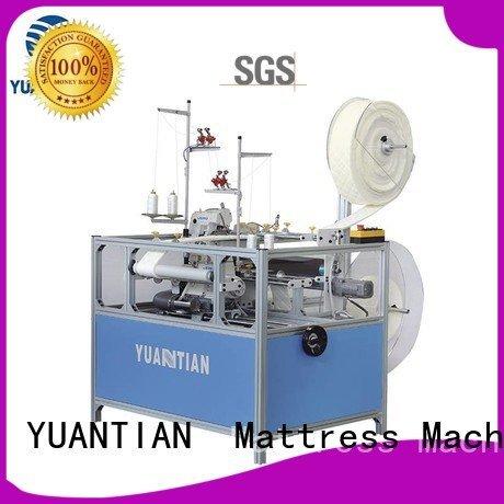 Wholesale heavyduty sewing Mattress Flanging Machine YUANTIAN Mattress Machines Brand
