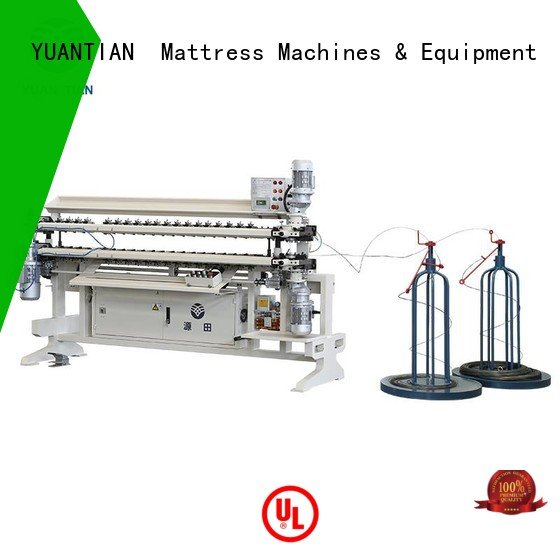 semiauto cw2 assembling spring YUANTIAN Mattress Machines bonnell spring unit machine