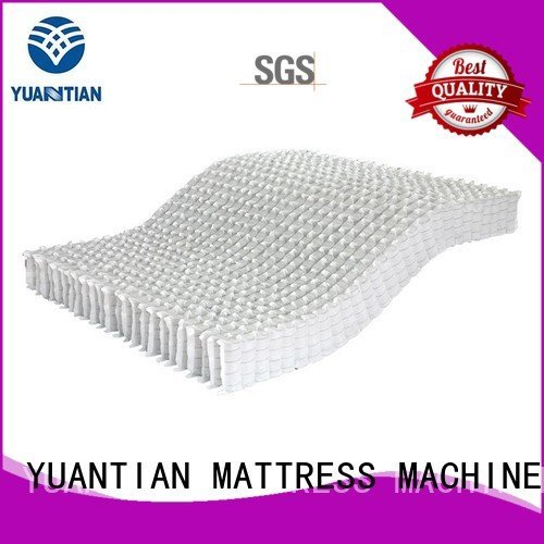 unit spring pocket covers YUANTIAN Mattress Machines mattress spring unit