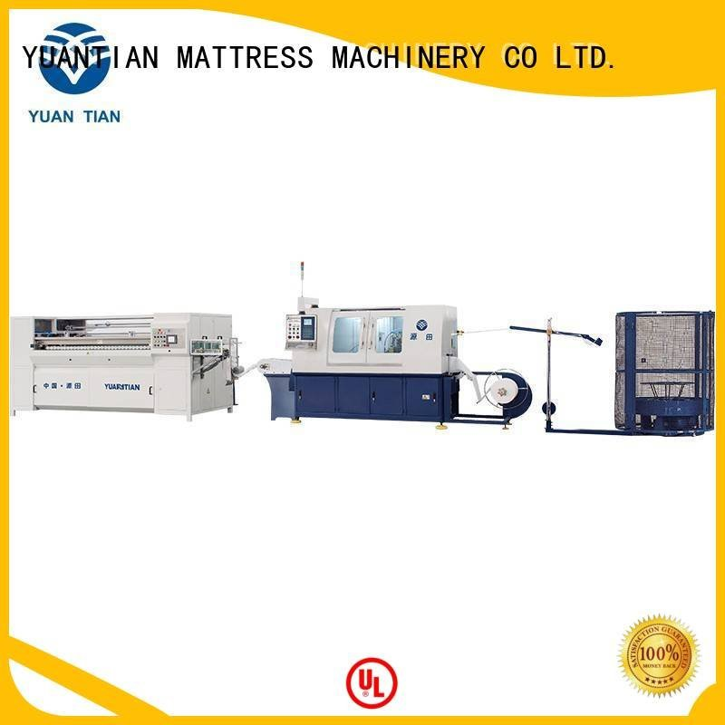 spring automatic production YUANTIAN Mattress Machines Automatic High Speed Pocket Spring Machine