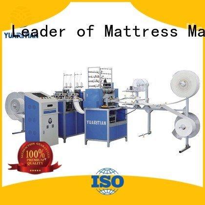 YUANTIAN Mattress Machines Brand machine multineedle single quilting machine for mattress border