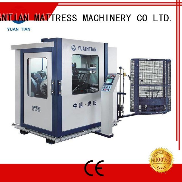 coiler unit line YUANTIAN Mattress Machines Automatic Bonnell Spring Coiling Machine