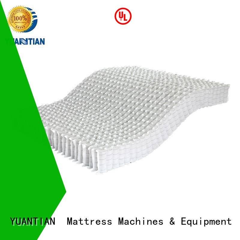 top mattress spring unit YUANTIAN Mattress Machines mattress spring unit