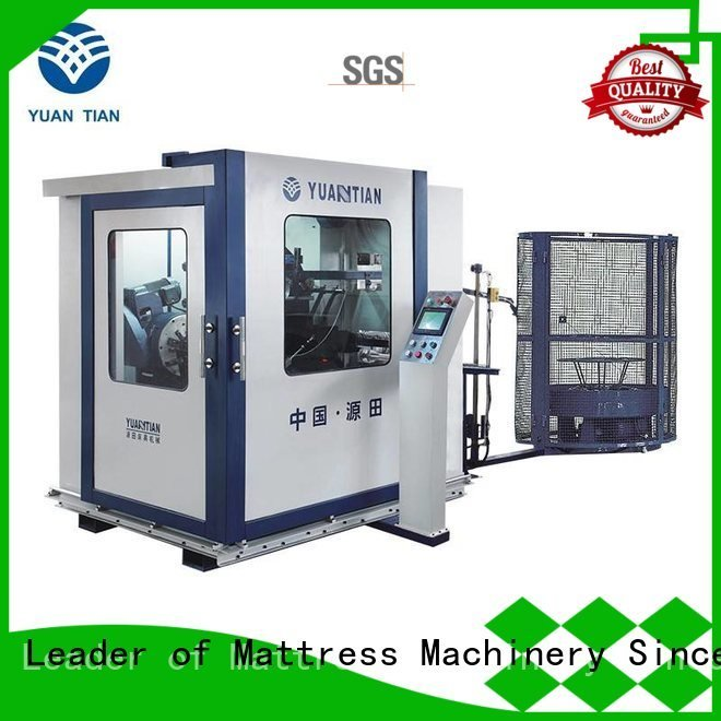 YUANTIAN Mattress Machines Brand machine line Automatic Bonnell Spring Coiling Machine coiler production