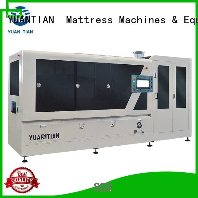 pocket dzg6 production YUANTIAN Mattress Machines Automatic Pocket Spring Machine