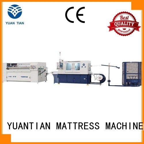 Automatic Pocket Spring Machine spring dn6 Automatic High Speed Pocket Spring Machine YUANTIAN Mattress Machines Brand
