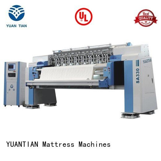 YUANTIAN Mattress Machines quilting multineedle quilting machine for mattress stitching ls320