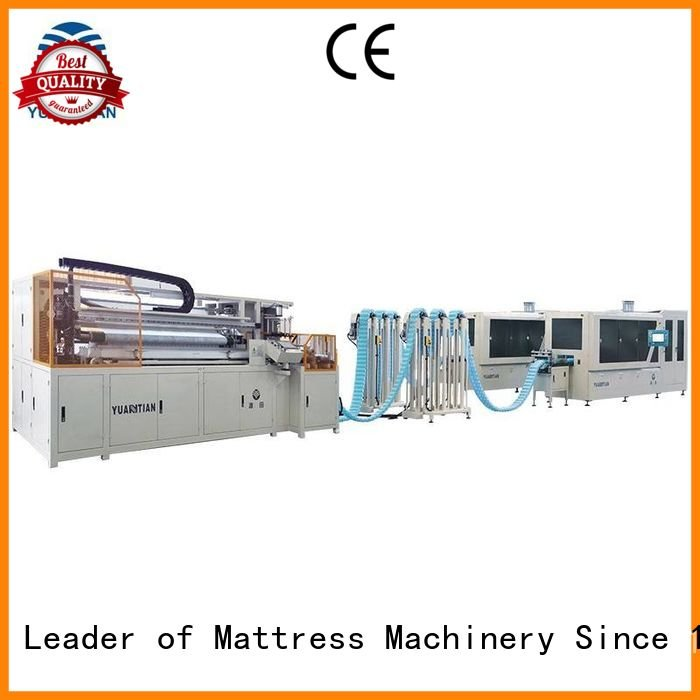 Hot Automatic Pocket Spring Machine pocketspring coiling machine YUANTIAN Mattress Machines Brand