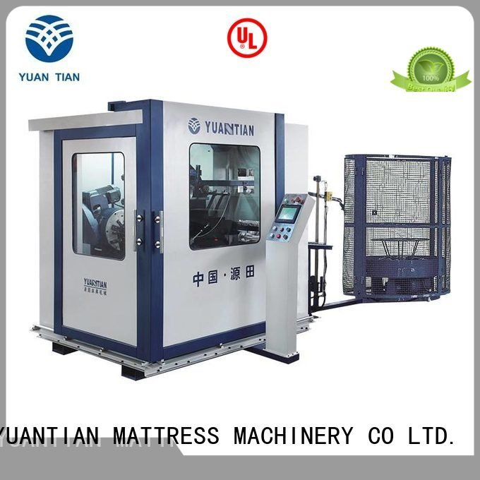 YUANTIAN Mattress Machines Brand spring zj3 bonnell spring machine line unit