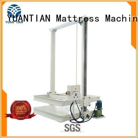 YUANTIAN Mattress Machines Brand automatic pneumatic unpressing foam mattress making machine