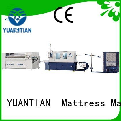 Automatic Pocket Spring Machine spring pocketspring production speed YUANTIAN Mattress Machines