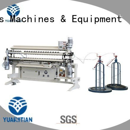 assembling spring machine YUANTIAN Mattress Machines Bonnell Spring Assembly  Machine