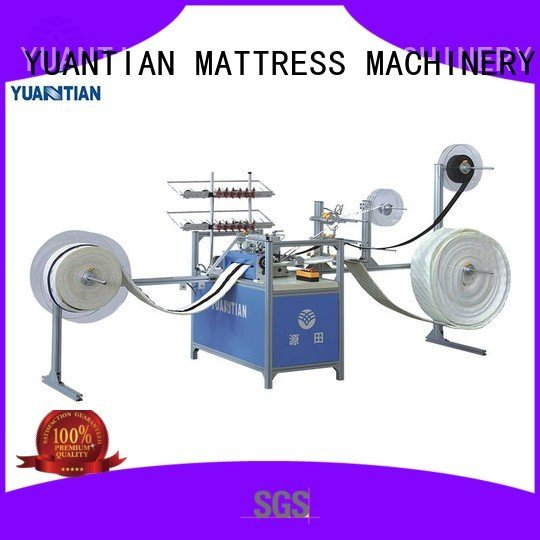 YUANTIAN Mattress Machines Brand autimatic label singer  mattress  sewing machine price decorative sewing