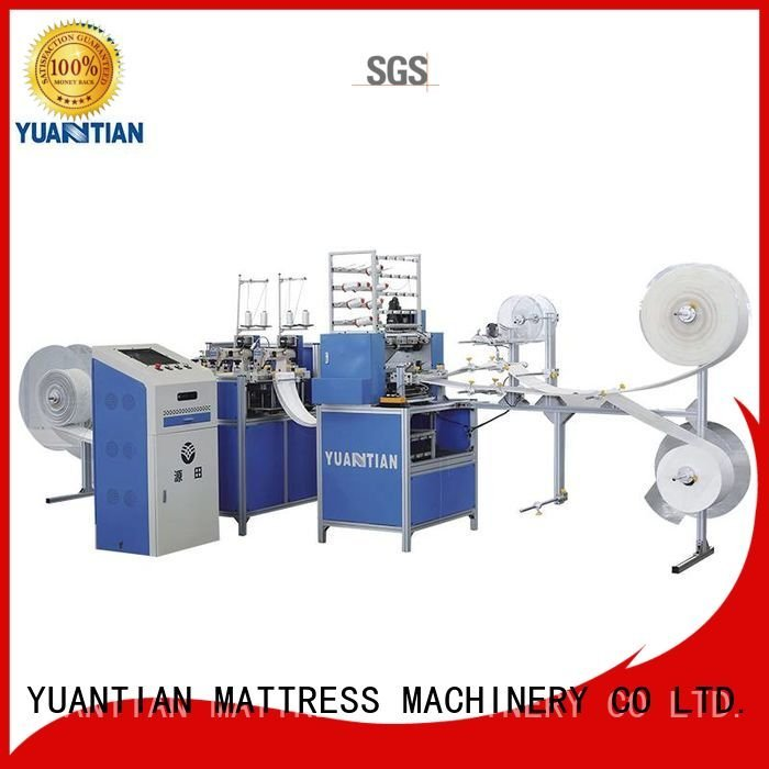 single border quilting machine for mattress highspeed YUANTIAN Mattress Machines