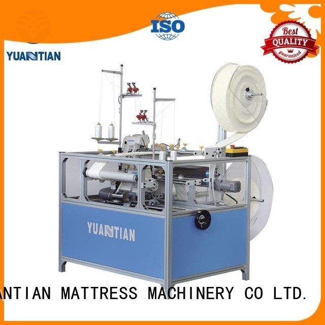 machine mattress sewing YUANTIAN Mattress Machines Double Sewing Heads Flanging Machine