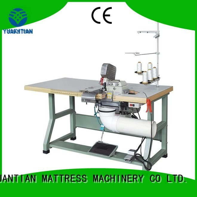 Double Sewing Heads Flanging Machine multifunction Mattress Flanging Machine heads company