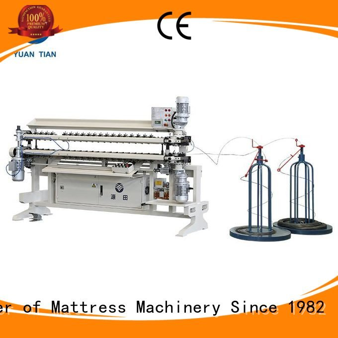 semiauto Bonnell Spring Assembly  Machine YUANTIAN Mattress Machines bonnell spring unit machine