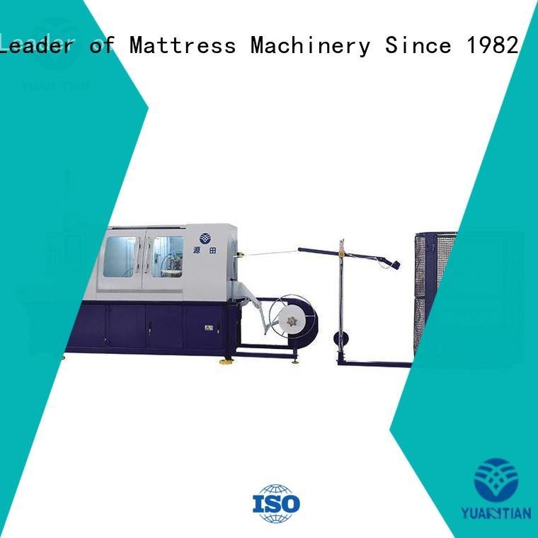 production line coiling spring YUANTIAN Mattress Machines Automatic High Speed Pocket Spring Machine