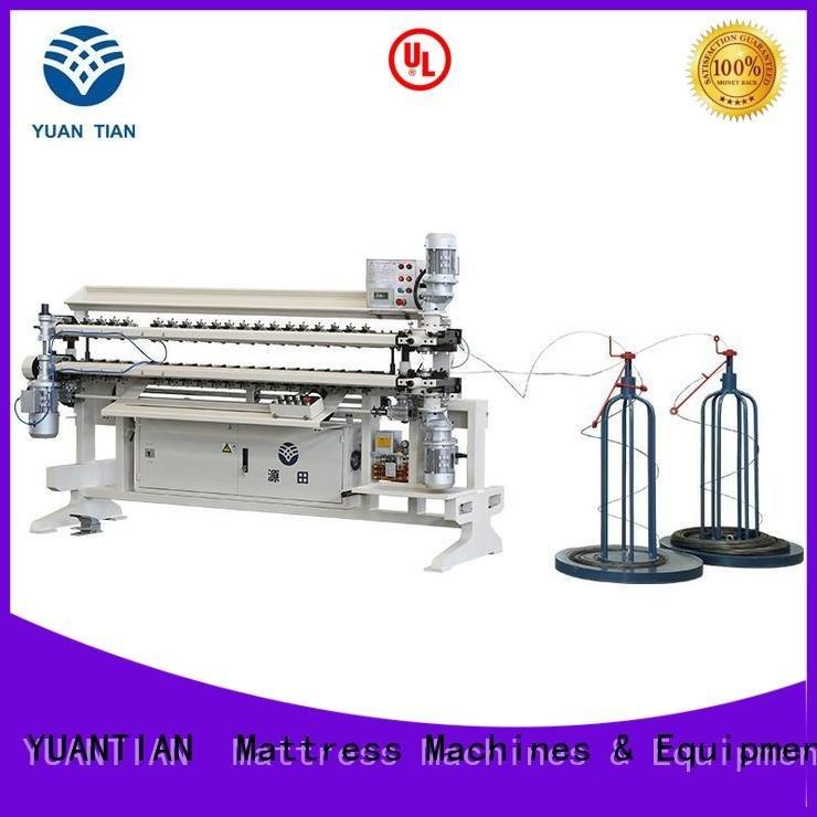 YUANTIAN Mattress Machines Brand spring semiauto machine Bonnell Spring Assembly  Machine assembling