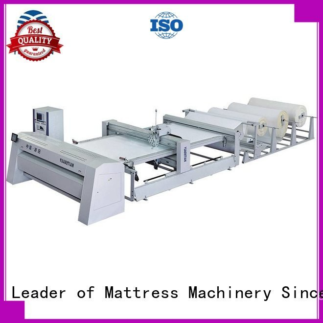 YUANTIAN Mattress Machines Brand singleneedle four double quilting machine for mattress