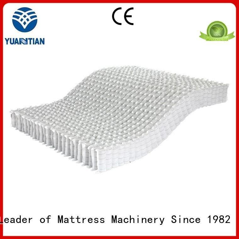 Quality YUANTIAN Mattress Machines Brand covers mattress spring unit