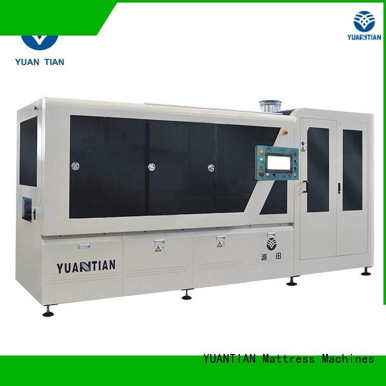 high line dzg1b YUANTIAN Mattress Machines Automatic High Speed Pocket Spring Machine
