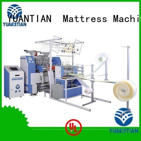 multineedle stitching quilting machine for mattress needle YUANTIAN Mattress Machines