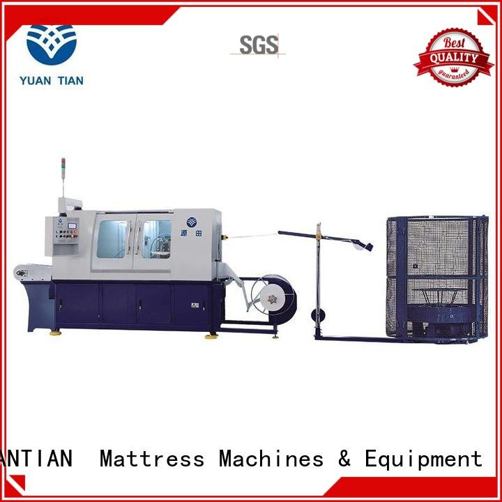 production spring line Automatic High Speed Pocket Spring Machine YUANTIAN Mattress Machines
