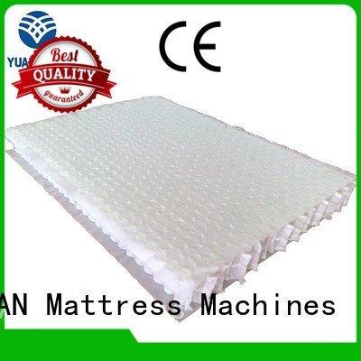 YUANTIAN Mattress Machines Brand pocket top bottom mattress spring unit