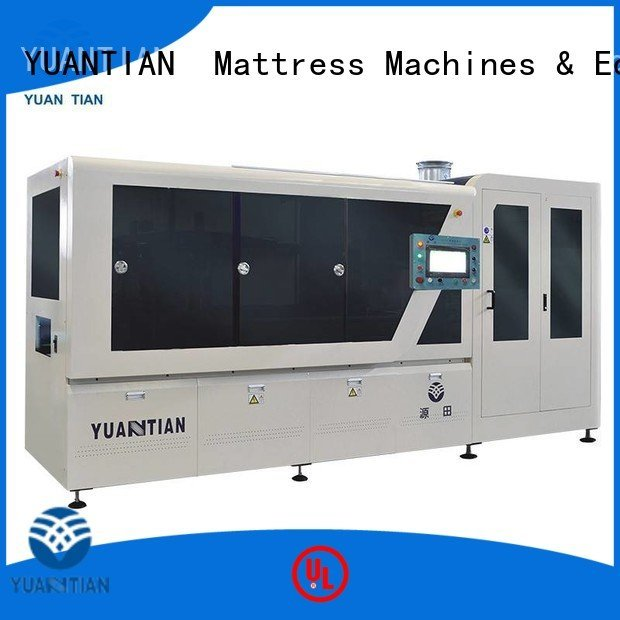 YUANTIAN Mattress Machines Brand pocketspring speed Automatic High Speed Pocket Spring Machine machine high