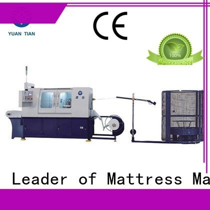 spring Automatic High Speed Pocket Spring Machine YUANTIAN Mattress Machines Automatic Pocket Spring Machine