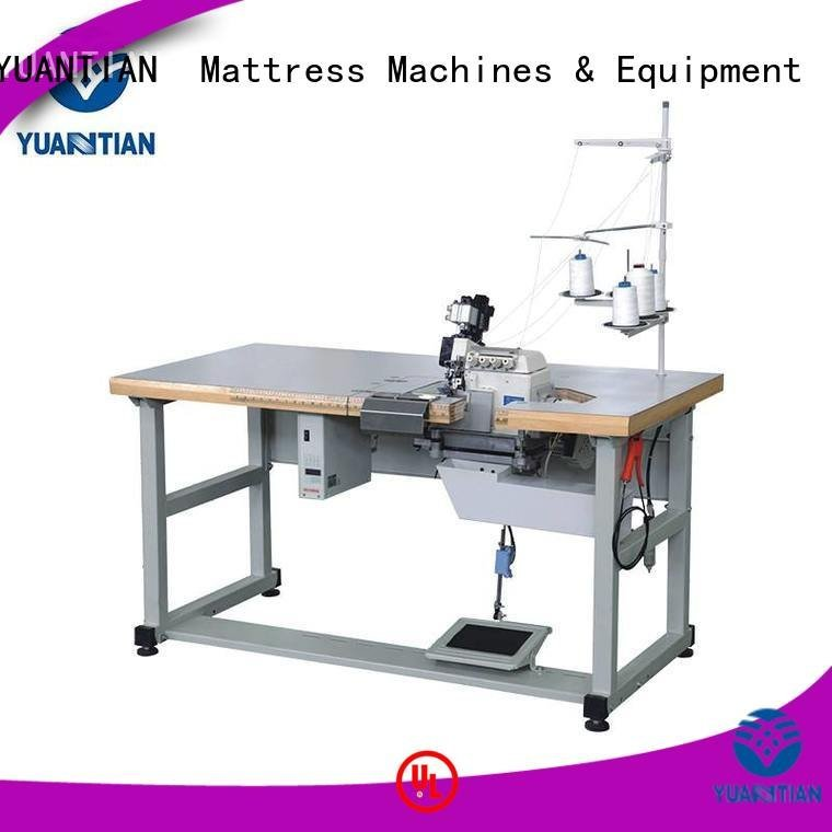 OEM Mattress Flanging Machine heavyduty heads Double Sewing Heads Flanging Machine