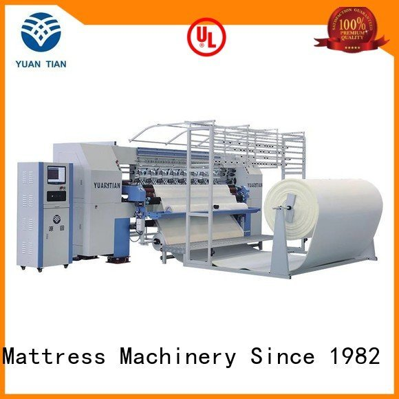 four border needle mattress YUANTIAN Mattress Machines quilting machine for mattress