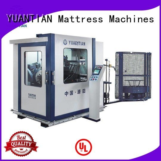 tx012 unit bonnell spring bonnell spring machine line YUANTIAN Mattress Machines Brand Automatic Bonnell Spring Coiling Mach